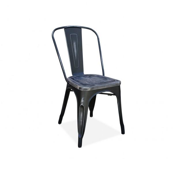 Etonnant Tolix Chair Distress